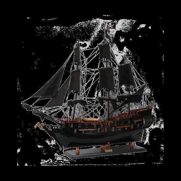 Modellschiff Pirat 80cm