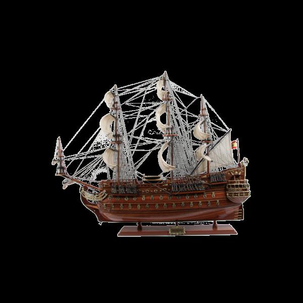 Schiffsmodell San Felipe 40cm